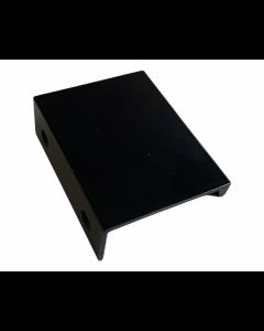Rehlingsgreb Edge 32 x 52mm - malet mat sort Inkl. 2 skruer - Skabsdesign