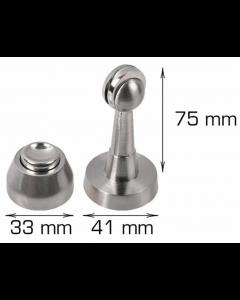 Dørholder med magnet H75 x B41 mm - Skabsdesign.dk