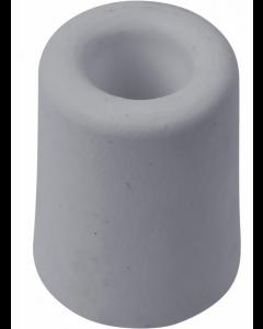 Dørstopper i grå gummi Ø30 x H:35mm excl. skrue - Skabsdesign
