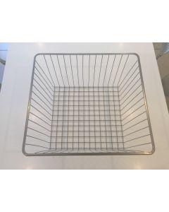 Trådkurv til 40cm skab - Højde 28,5cm - Inkl. Skinner - 1 Kurv - Vasketøjskurv