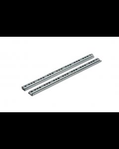 Kugleløb 17mm 246x17x1,0 stål elg. Metalslæde - Skabsdesign