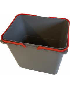 Løs affaldsspand til Affaldssystem - Ca. 15 liter Inkl. håndtag - Skabsdesign.dk
