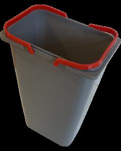 Løs affaldsspand til Affaldssystem - Ca. 9 liter Inkl. håndtag - Skabsdesign