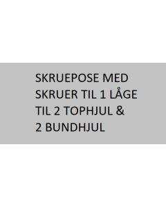 Skinnesæt 400cm Top-/bundskinne Basic-line - Skabsdesign.dk