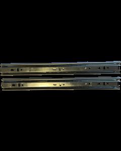 Skuffeskinner - Rulleløb - 35x300mm med fuldudtræk - 1 sæt - Skabsdesign.dk