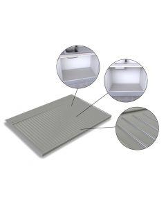 Vaskeskabsbund til 80 cm skab. B:768mm Passer til vaskeskab med udv. bredde 80 cm