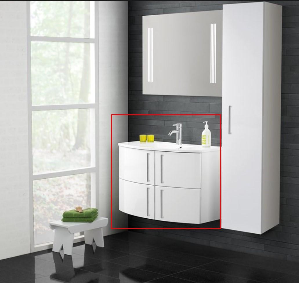Super Flot Limbo+ badeværelsesmøbel - klik her for at tegne og bestille on-line