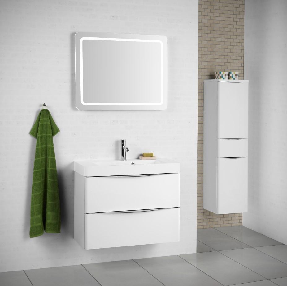 Scanbad Samba elegante badeværelser - Klik her for at tegne og beregne tilbudsprisen på dit badeværelse